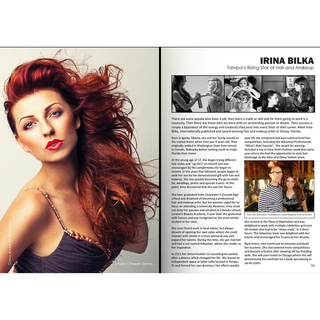 Irina Bilka Freelance Hair And Makeup